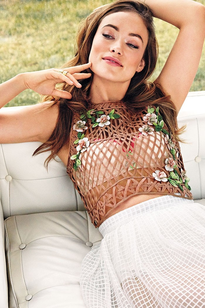 "Olivia Wilde Talks Post-Baby Body: ""I'm a Mother & I Look Like One"""