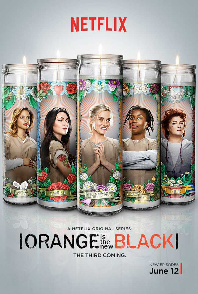 Orange is the New Black gets a saintly season 3 poster.