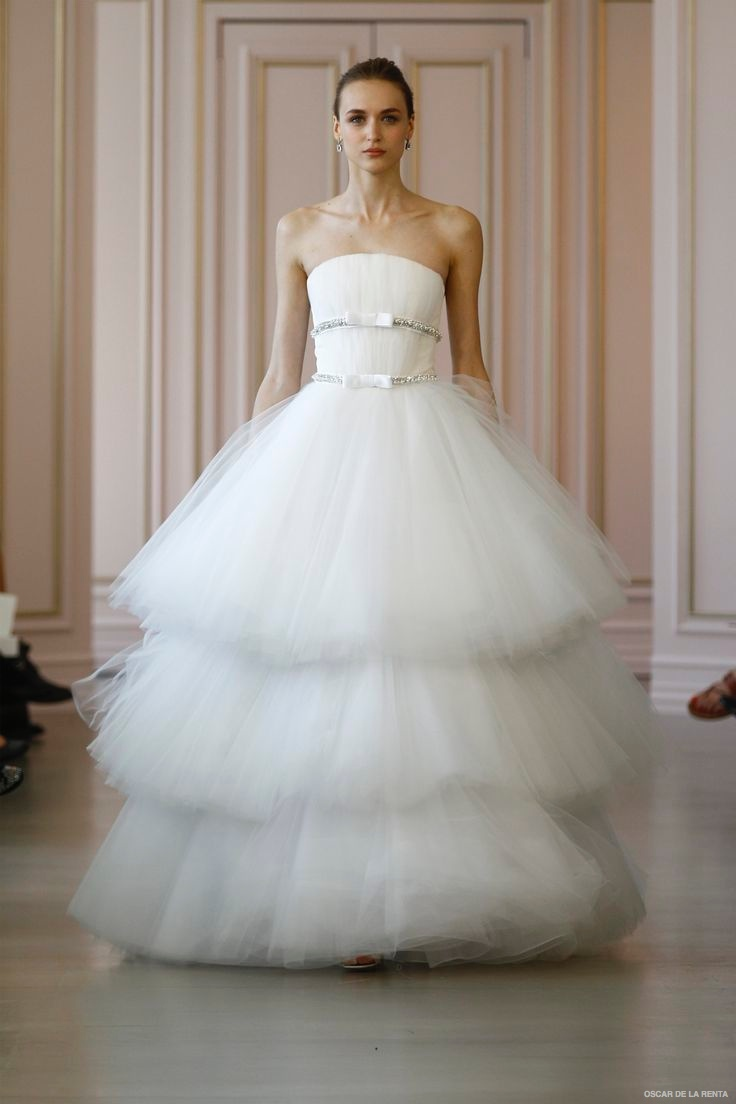 oscar de la renta 2016 spring wedding dresses01 - short beach style wedding dresses