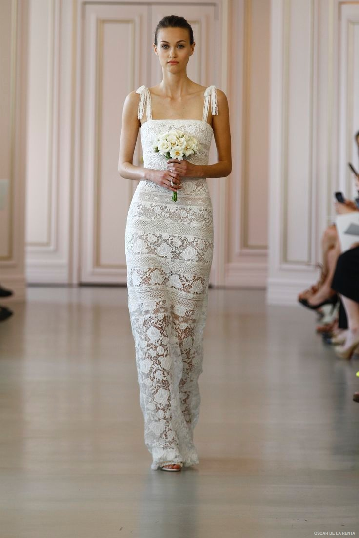 Bridal spring 2016 trends 4 trending wedding looks for Oscar de la renta short wedding dress