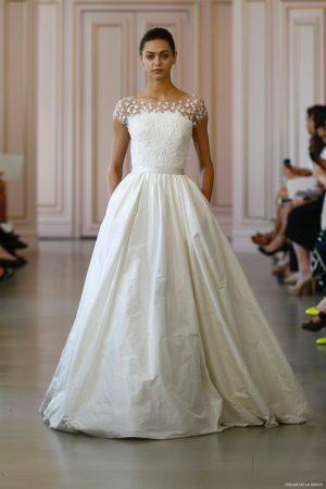 See Peter Copping's Debut Bridal Collection for Oscar de la Renta