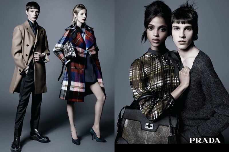 Prada launches pre-fall 2015 campaign photographed by Steven Meisel