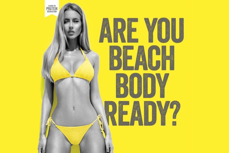 Protein World stirred controversy with this advertisement. Opponents say the campaign pushes the ideal that women need to be slim to have a beach body.