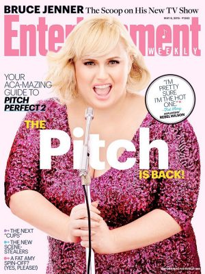Rebel Wilson Shines on Entertainment Weekly Cover