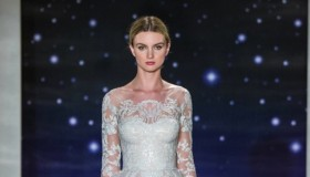 A look from Reem Acra's spring-summer 2016 bridal collection