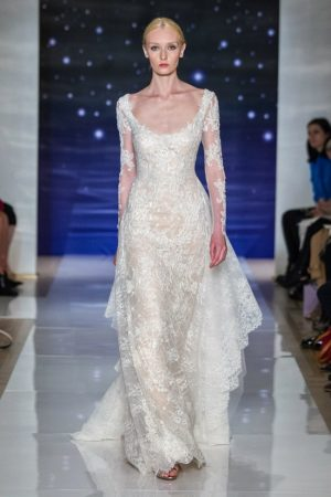 Reem Acra Does Enchanted Embroidery for Spring Bridal