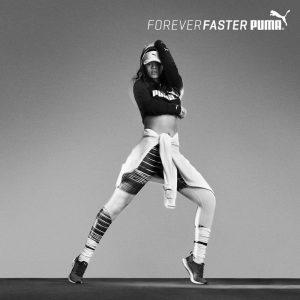 Rihanna Flaunts Her Midriff in First PUMA Ad