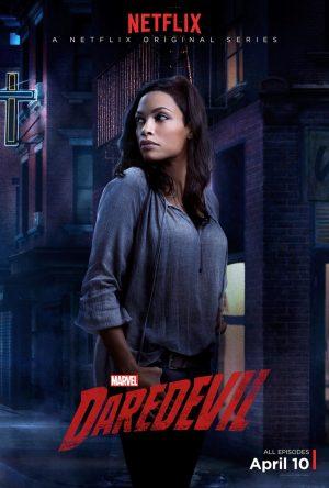 Rosario Dawson, Deborah Ann Woll Pose on 'Daredevil' Character Posters