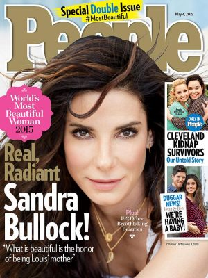 PEOPLE Reveals Sandra Bullock as the World's Most Beautiful Woman