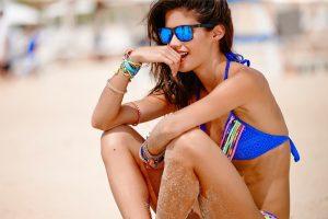 Sara Sampaio Rocks the Beach for Banana Moon
