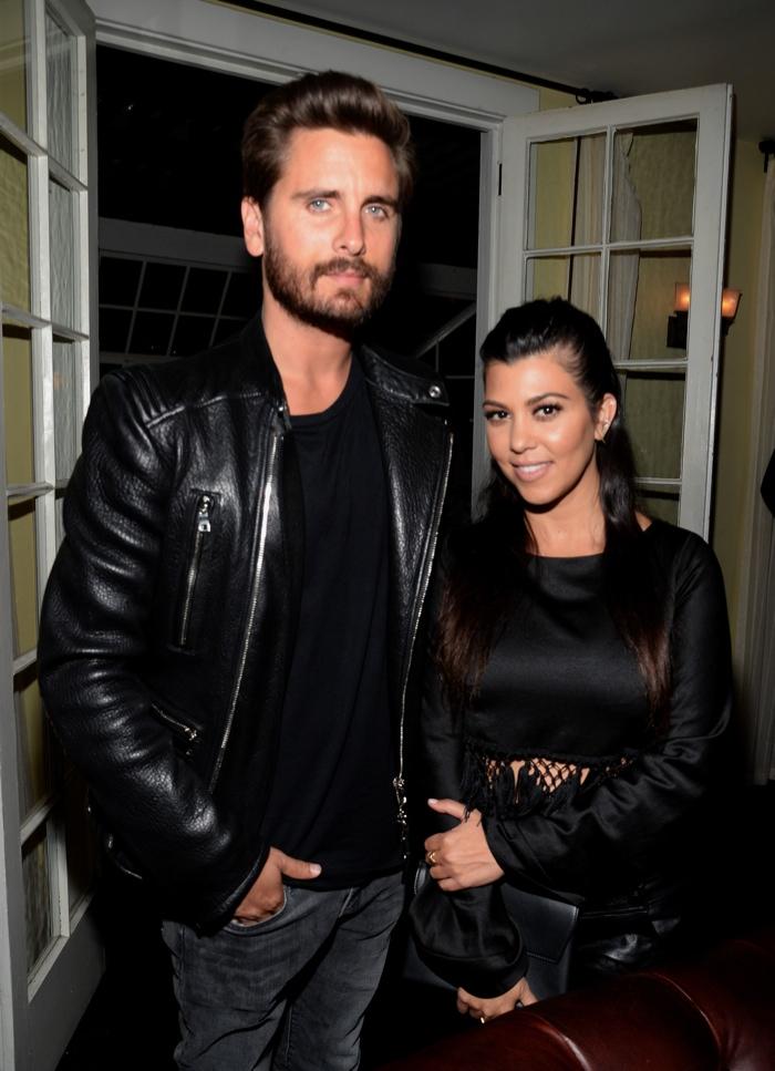 Scott Disick and Kourtney Kardashian. Photo: Getty Images Entertainment