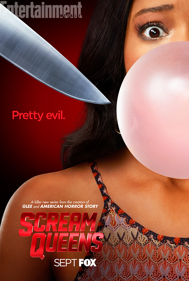 Keke Palmer on 'Scream Queens' poster