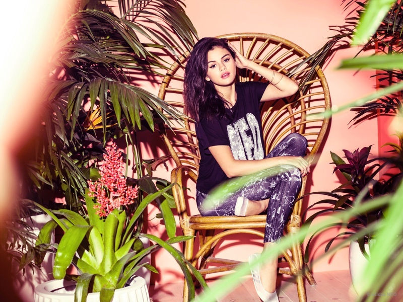 Selena Gomez Sports Her New adidas NEO Collection