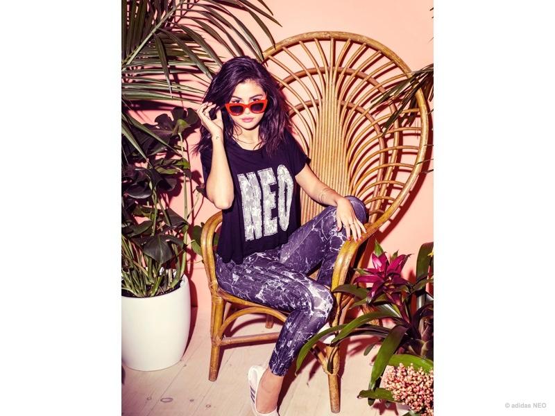 Selena Gomez Sports Her New adidas NEO Collection | Fashion