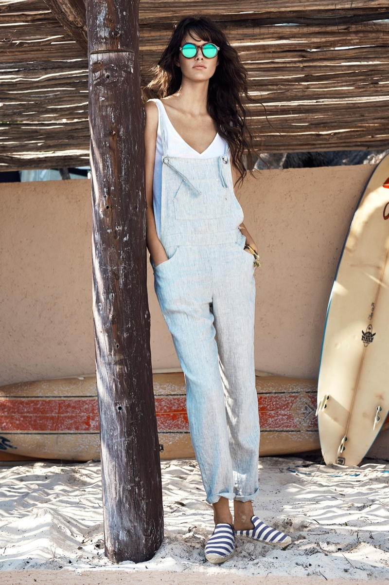 Mango Shows How to Wear Surfer Girl Style for Summer