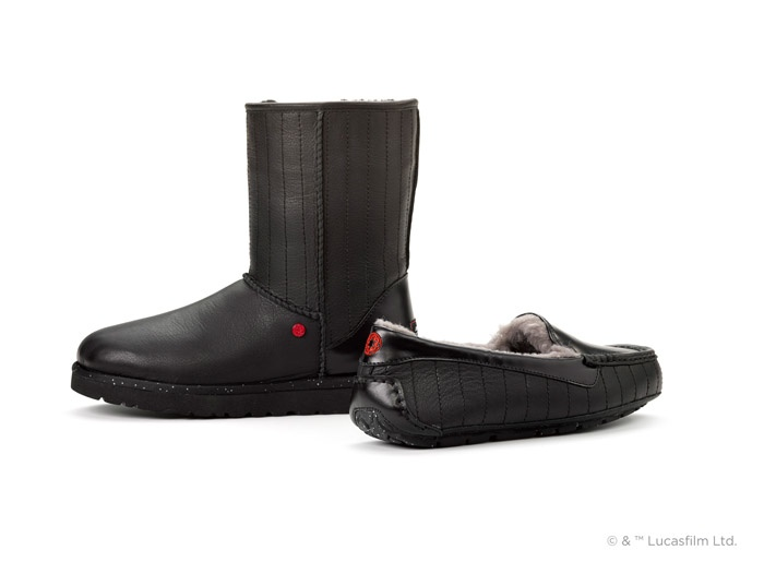 UGG Teams Up with Star Wars for Darth Vader Inspired Shoes