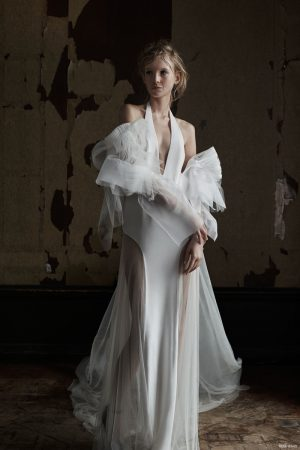 Vera Wang Goes Seductive for Spring Bridal Collection