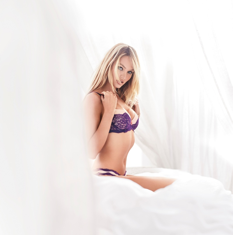 Candice Swanepoel Stars in Victoria's Secret Dream Angels 2015 shoot