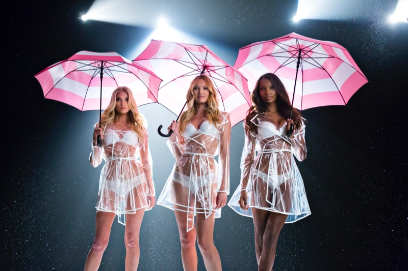 Elsa Hosk, Candice Swanepoel and Jasmine Tookes star in Victoria's Secret lingerie video. Photo: Victoria's Secret