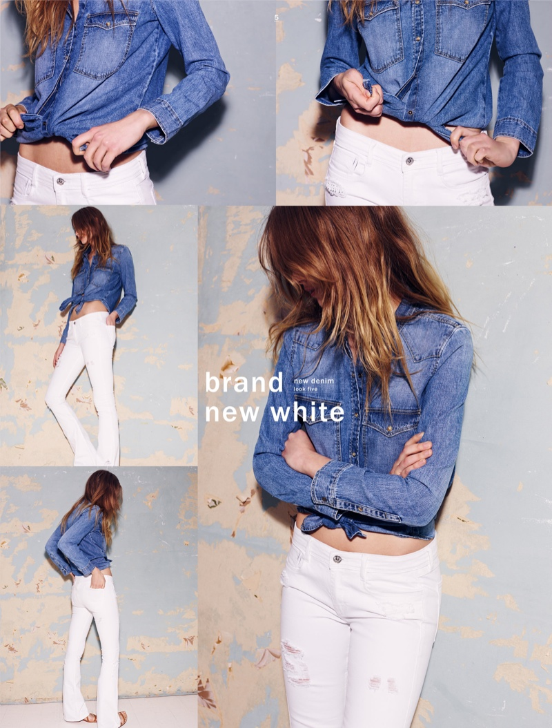 Zara Shows How To Wear Denim This Spring Fashion Gone Rogue