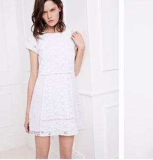 Zara Offers All White Looks for Spring