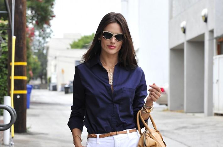 Alessandra Ambrosio Running Errands In LA