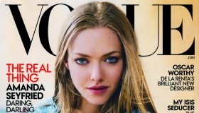 Amanda Seyfried graces the June 2015 cover from Vogue US
