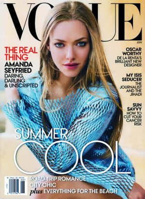 Amanda Seyfried Lands First Vogue Cover for June 2015