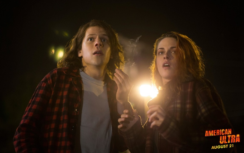 Watch the First 'American Ultra' Trailer with Kristen Stewart, Jesse Eisenberg