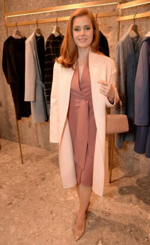 Amy Adams Looks Perfectly Ladylike at Max Mara Event in London