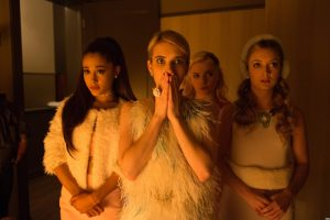 See the First 'Scream Queens' Trailer with Emma Roberts, Ariana Grande