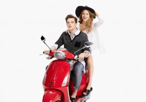 Vespa Style: Armani Exchange Takes a Ride for its May Lookbook