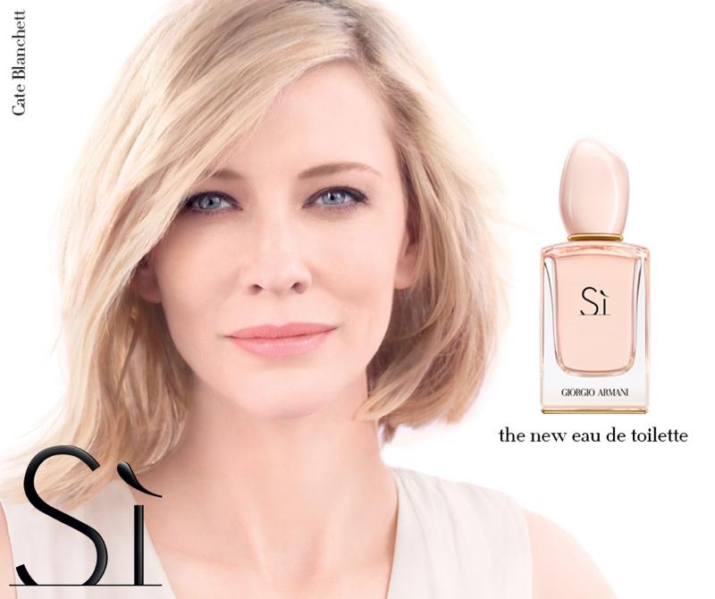 Cate Blanchett stars in Armani 'Si' Eau de toilette campaign
