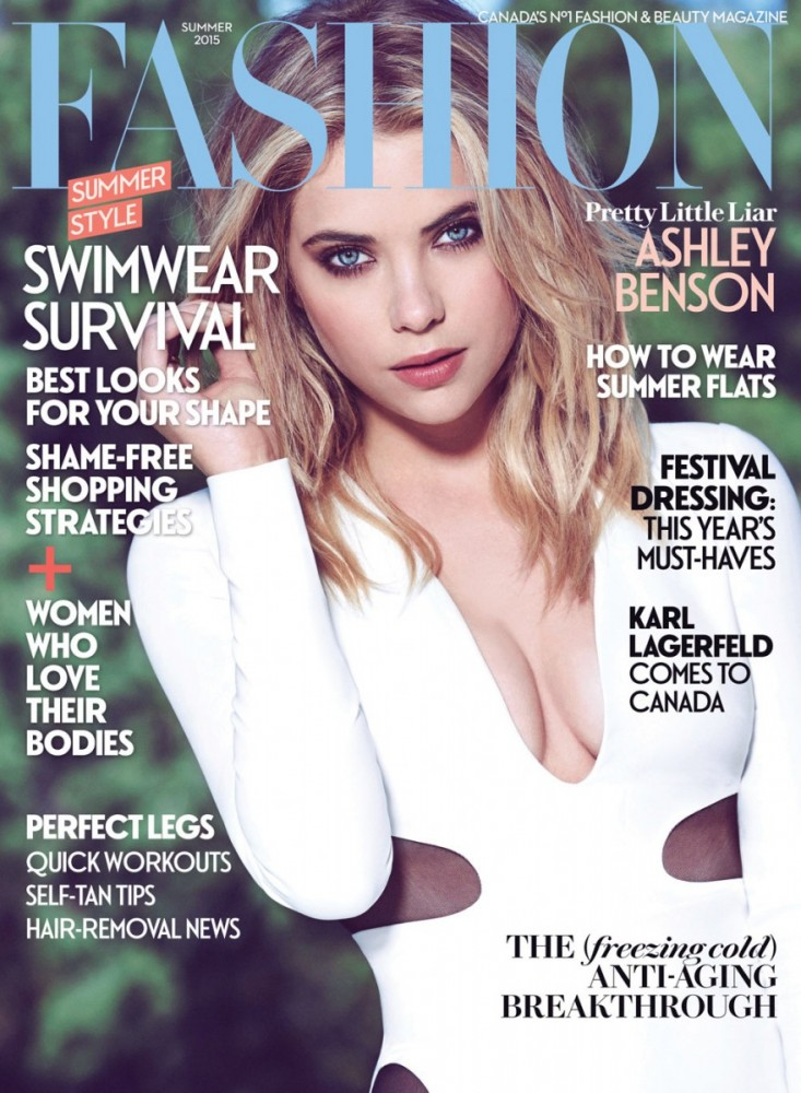 Ashley Benson Talks 'Chronically Metropolitan' + Dating with Fashion Magazine