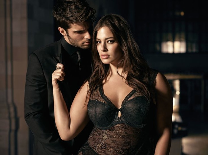 Ashley Graham stars in Addition Elle campaign featuring her eponymous lingerie line