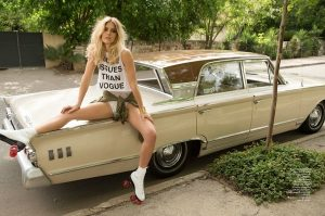 Bar Refaeli is a Summer Babe in L'Officiel Netherlands' June/July 2015 Issue