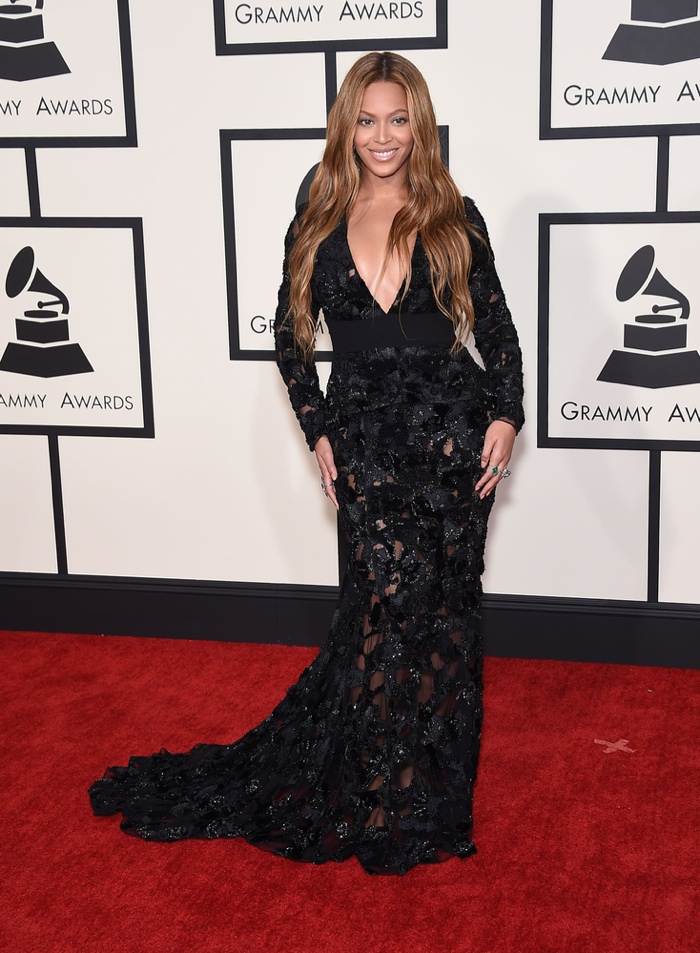 Beyonce at the Grammy's. Photo: DFree / Shutterstock.com