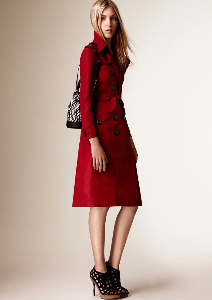 A look from Burberry's resort 2016 collection