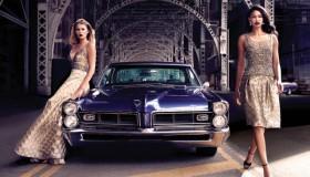 Chanel Iman + Tori Praver star in Dennis Basso's fall 2015 campaign