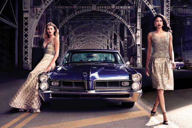 Preview: Chanel Iman + Tori Praver Star in Dennis Basso's Fall Campaign