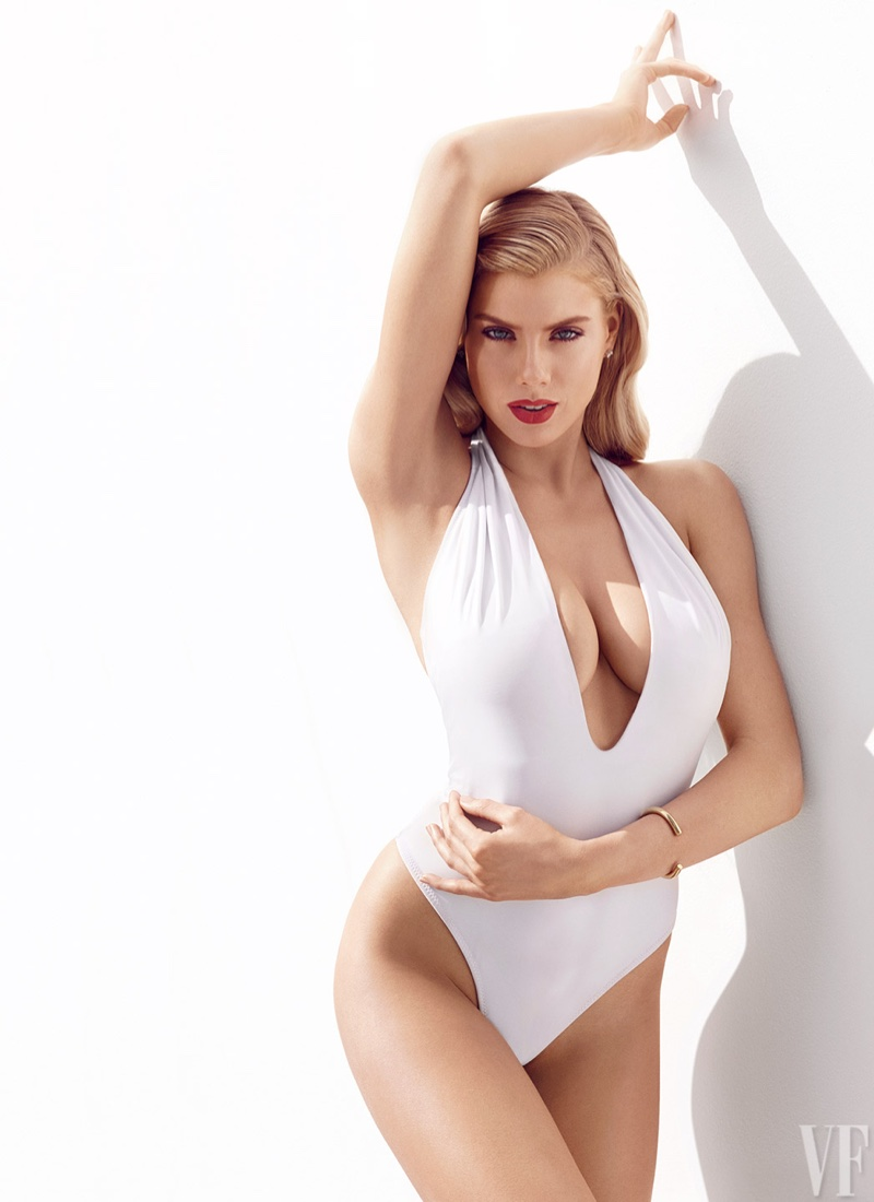 Charlotte McKinney is a Swimsuit Pin-Up for Vanity Fair, Talks Early Rejection
