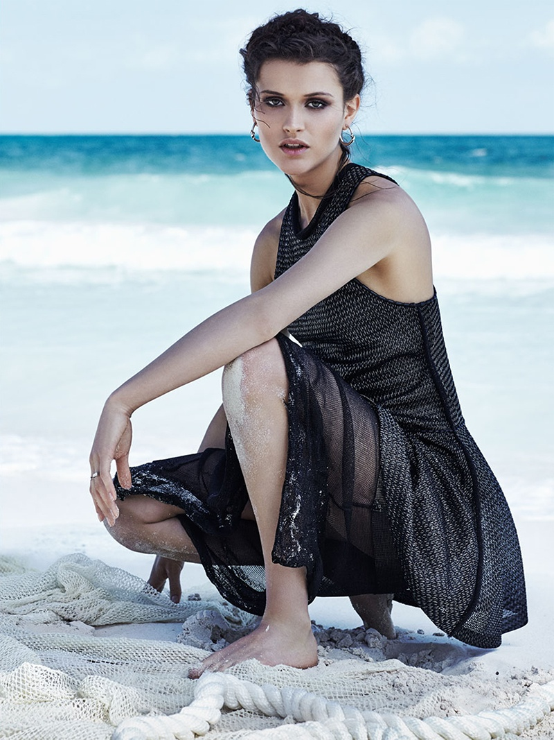 Rogue Ski Shop >> Chloe Lecareux Models Ethereal Beach Style for TELVA | Page 2 | Fashion Gone Rogue