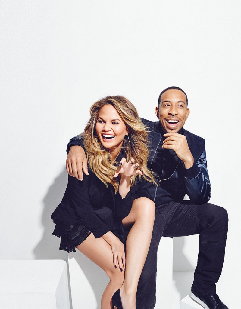 Chrissy Teigen and Ludacris are all smiles for Billboard magazine.