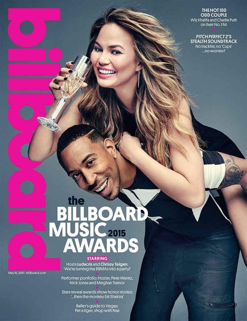 Chrissy Teigen and Ludacris cover the latest issue of Billboard.
