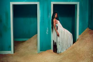 Ciara Enchants for Roberto Cavalli's Fall 2015 Ads