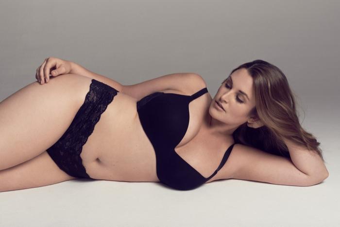 Emily Nolan Models Cosabella's New Plus Size Lingerie