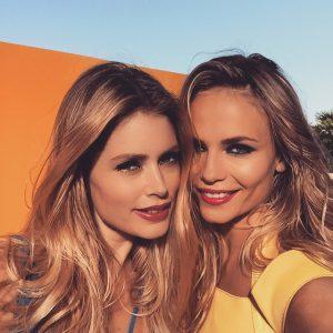 Doutzen Kroes & Natasha Poiy Go Poolside for L'Oreal Paris Shoot