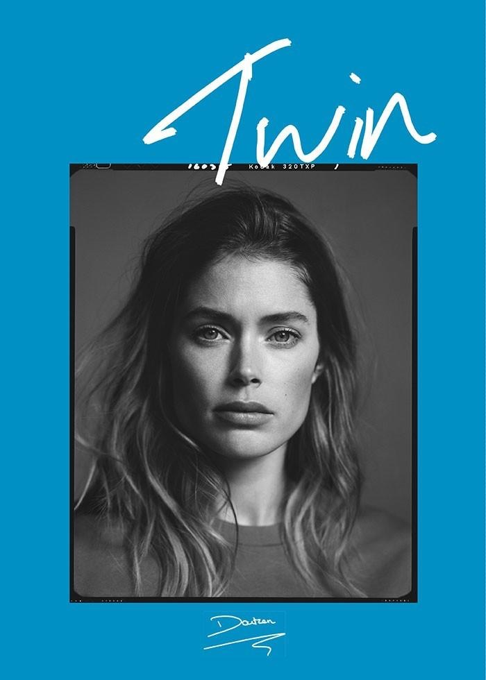 Doutzen Kroes graces the spring-summer 2015 cover of Twin