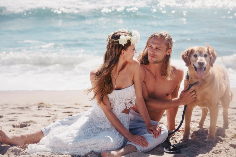 Free People has launched its bridal collection called, FPEverAfter