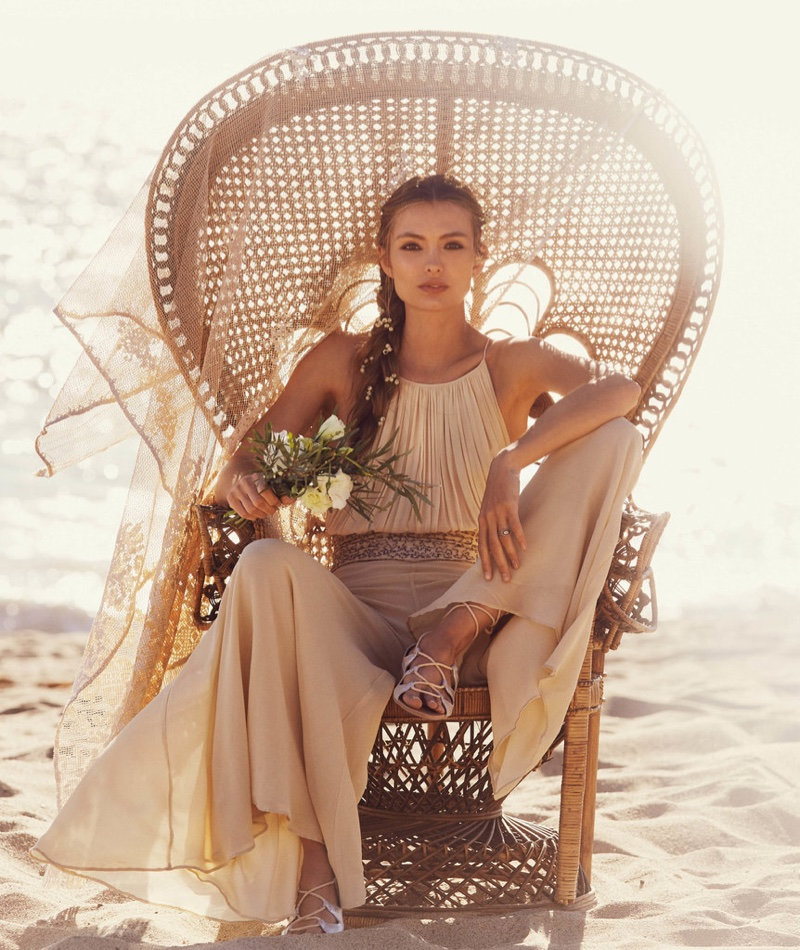 Free People designs for the nontraditional, bohemian bride